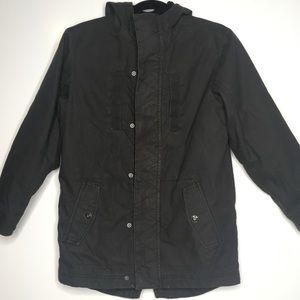 Old Navy Grey hoodie soft lining Jacket 10-12